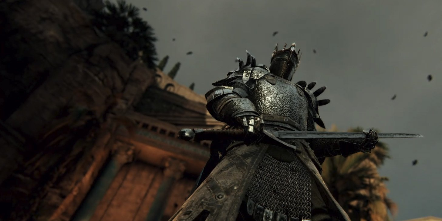 For Honor's upcoming Breach mode looks like a bloody tug of war screenshot