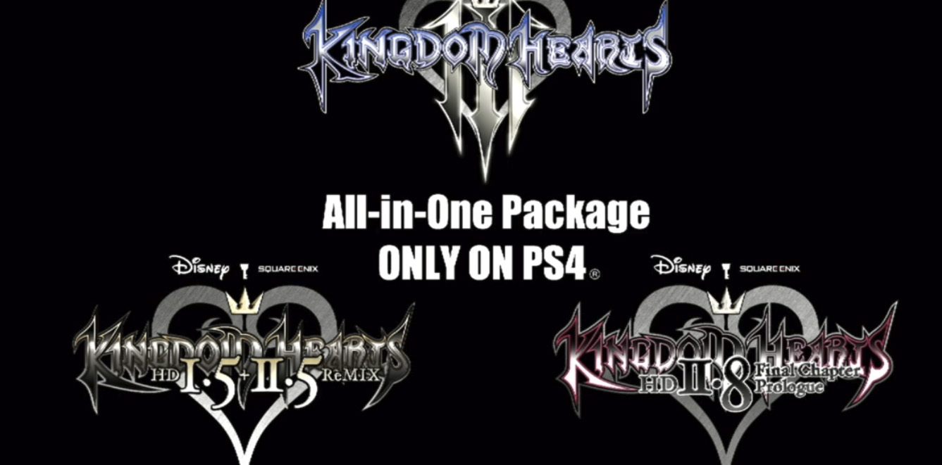 PS4 lands an all-in-one Kingdom Hearts bundle screenshot