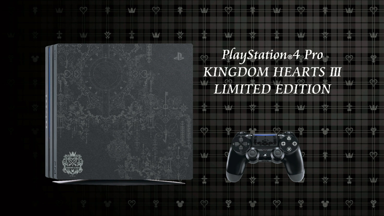 Kingdom Hearts limited edition PS4