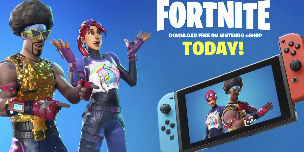 Fortnite confirmed for Nintendo Switch at E3, out today! screenshot