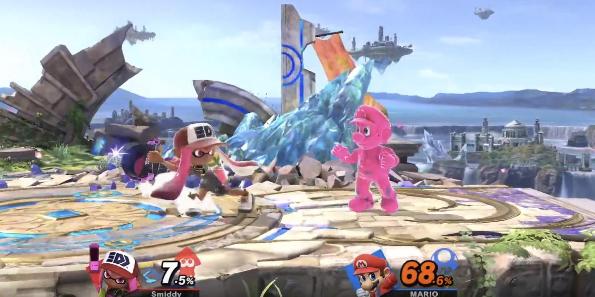 Super Smash Bros. Ultimate's Inkling fighter detailed during post conference stream screenshot