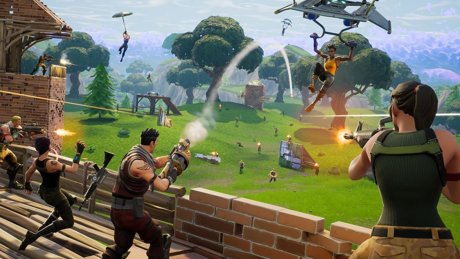Fortnite Switch players won't have to deal with Nintendo's convoluted app to chat screenshot