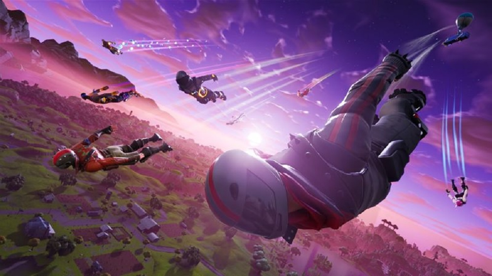Fortnite on Switch won't work with Epic accounts used on PS4 screenshot