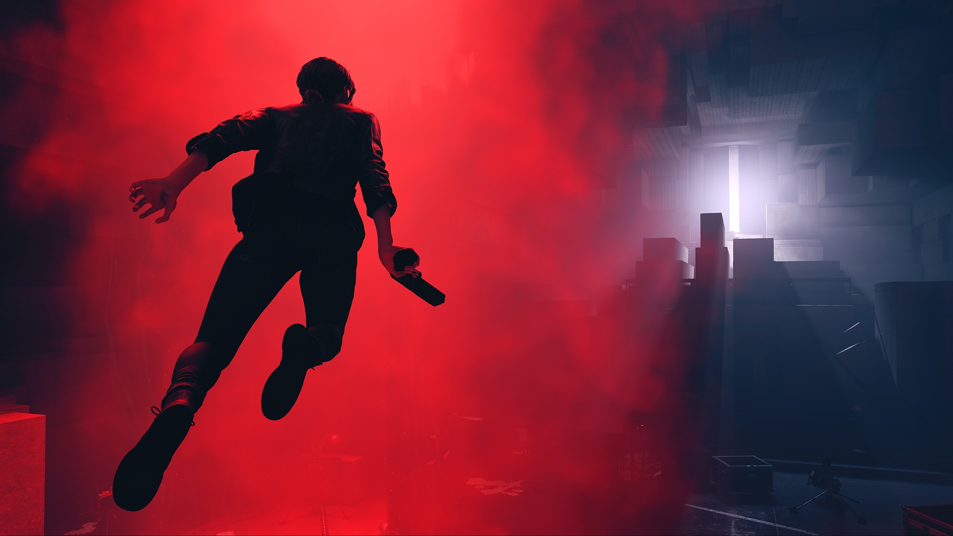 Remedy's Control might be the studio's first major game that puts more emphasis on gameplay than narrative screenshot
