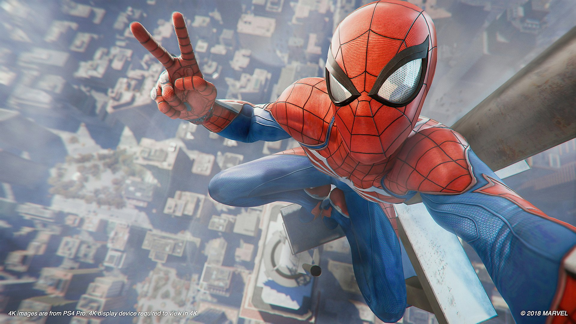 Spider-Man sets a new standard for superhero games screenshot