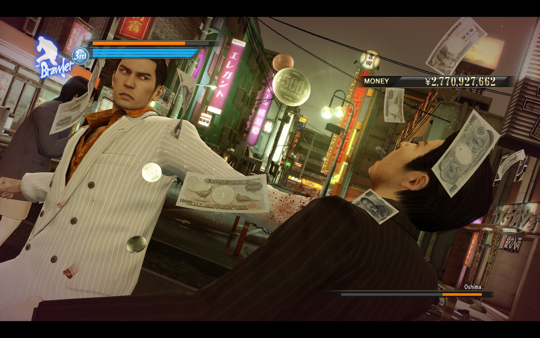 Sega confirms that Yakuza 0 PC will support 4K60FPS, as well as an uncapped frame rate screenshot