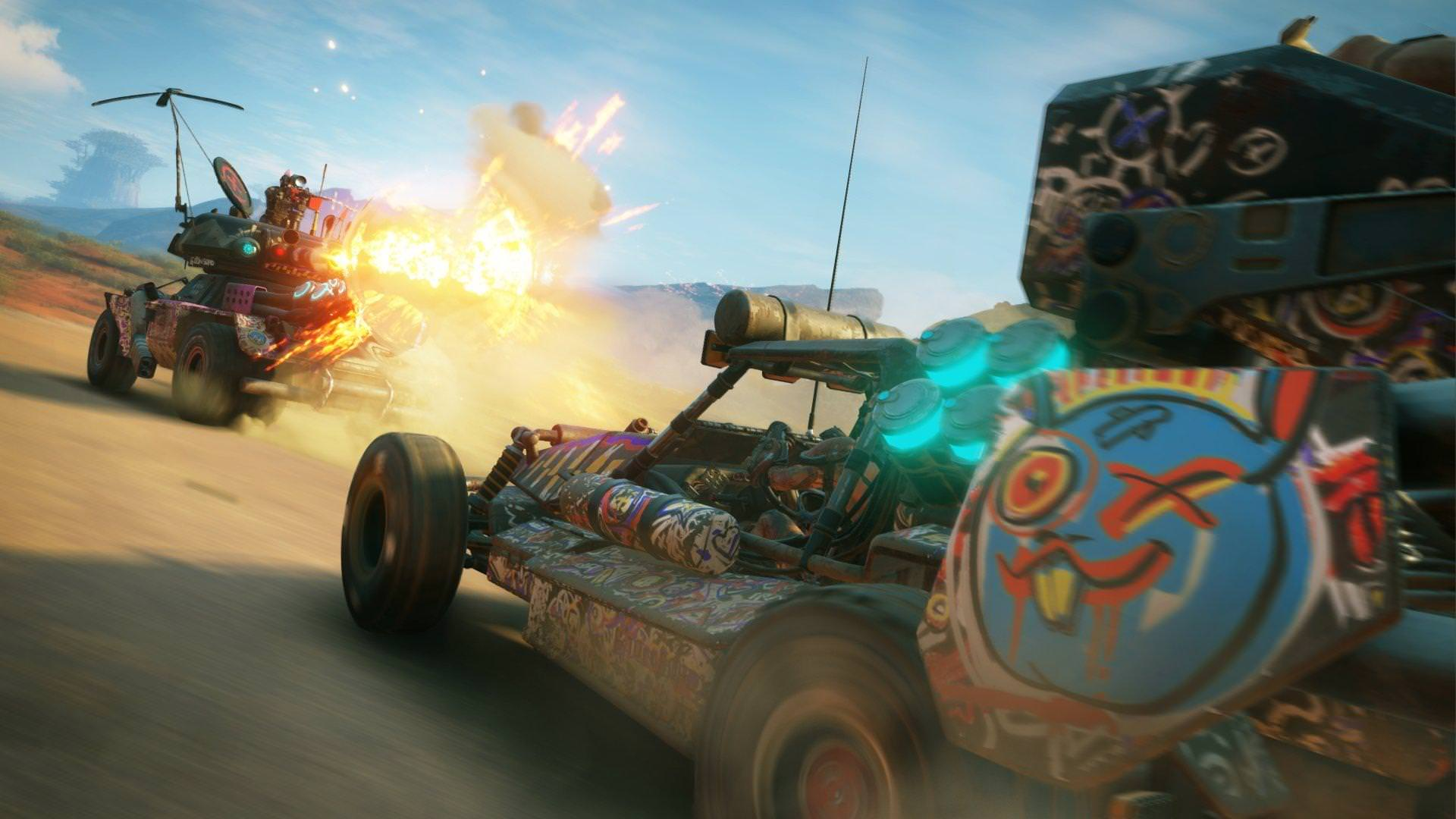 Rage 2 turns an apocalyptic wasteland into a frenetic shooting gallery screenshot