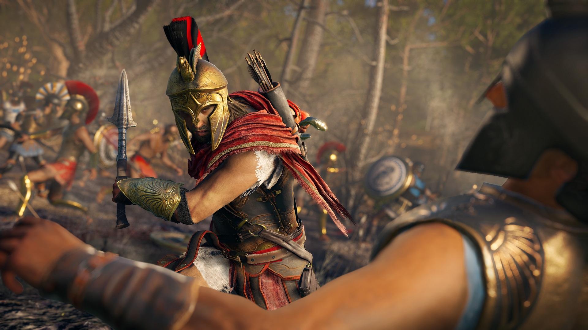 Assassin's Creed Odyssey has some magnificent big team battles screenshot