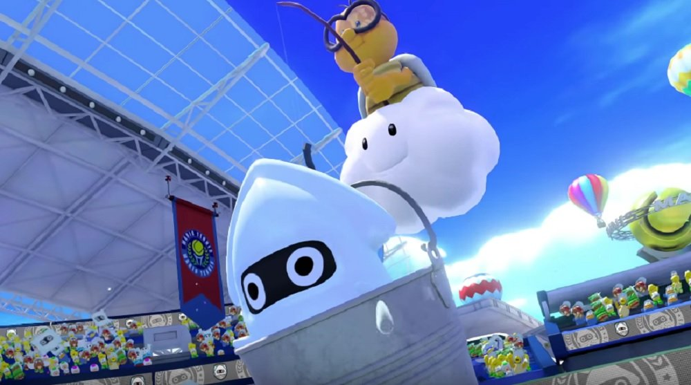 Mario Tennis Aces serves up cute trailers for Koopa Troopa and Blooper screenshot