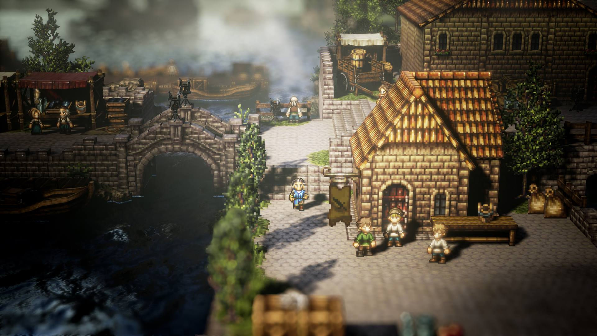 Octopath Traveler will not be getting DLC because 'the product is finished' screenshot