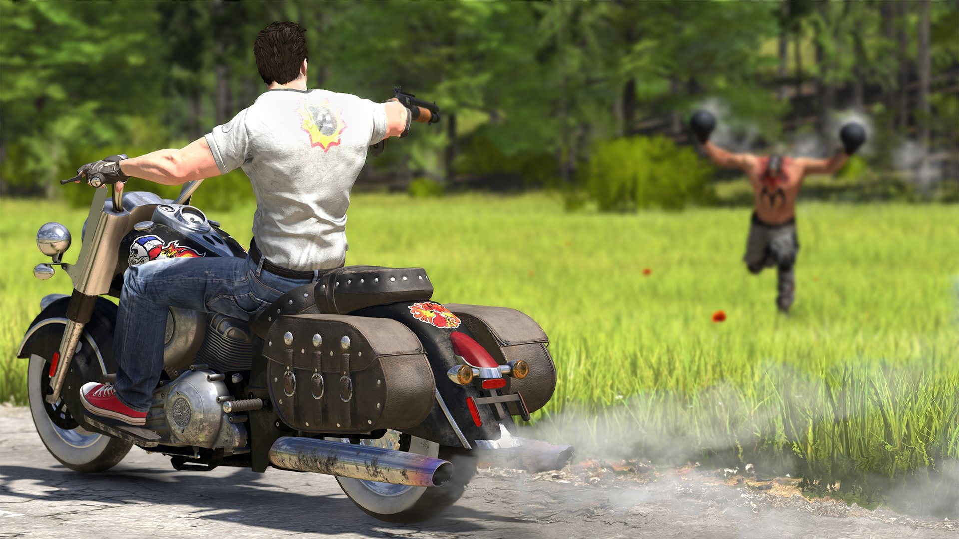 Serious Sam 4: Planet Badass isn't open world, but it will have some huge levels screenshot