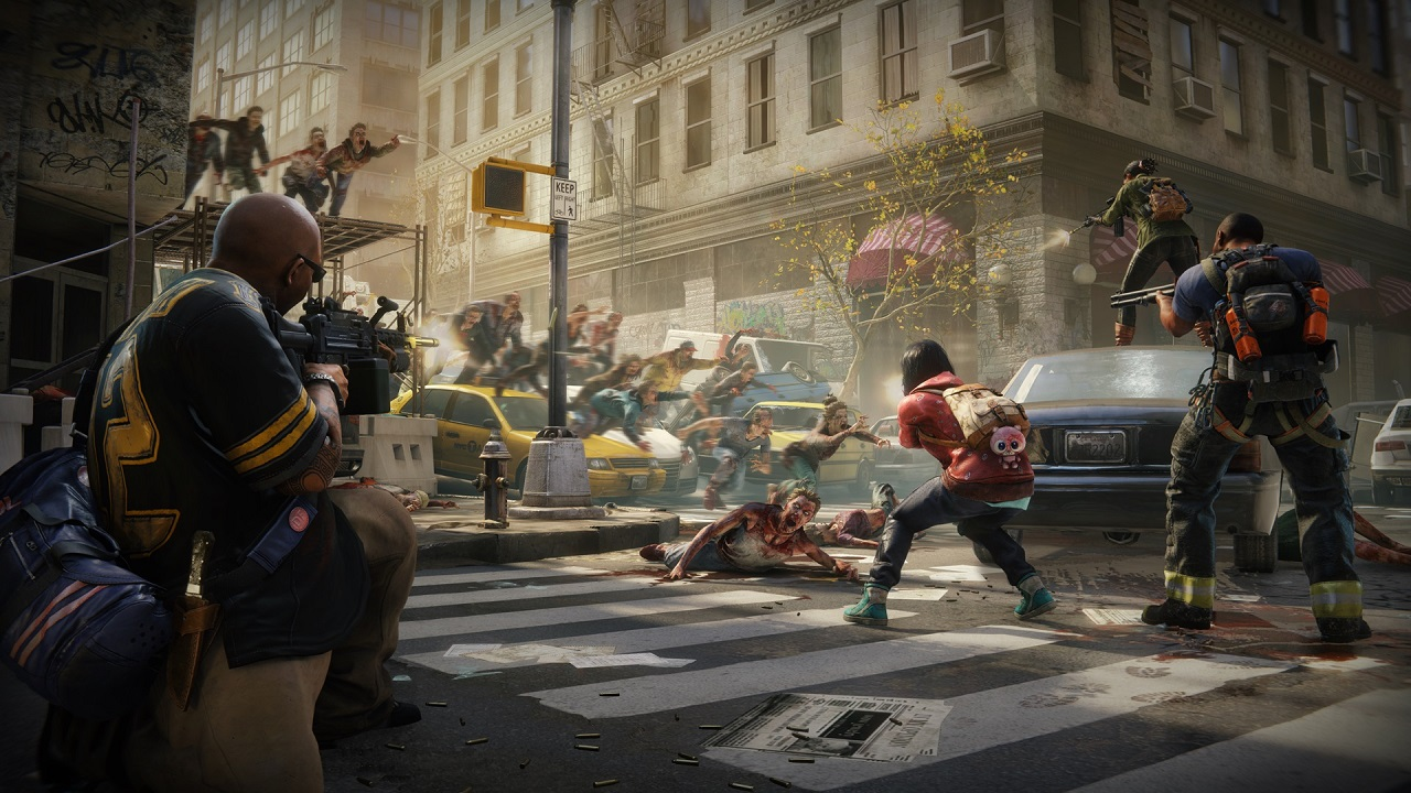 World War Z pits players against 500-zombie swarms screenshot