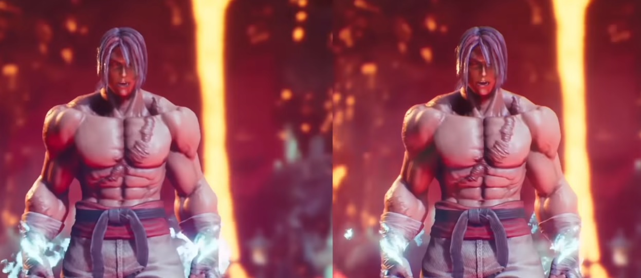 Arika shares footage of Fighting EX Layer running on a PS4 Pro screenshot