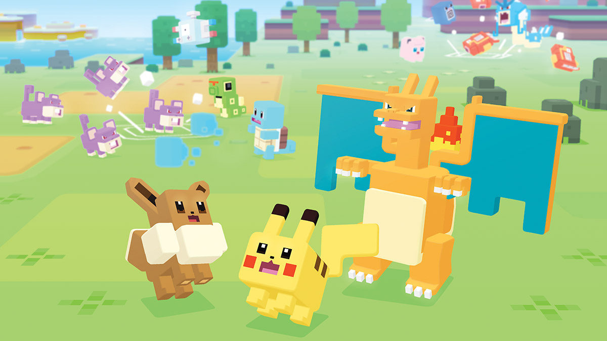 Pokemon Quest comes to iOS and Android next week
