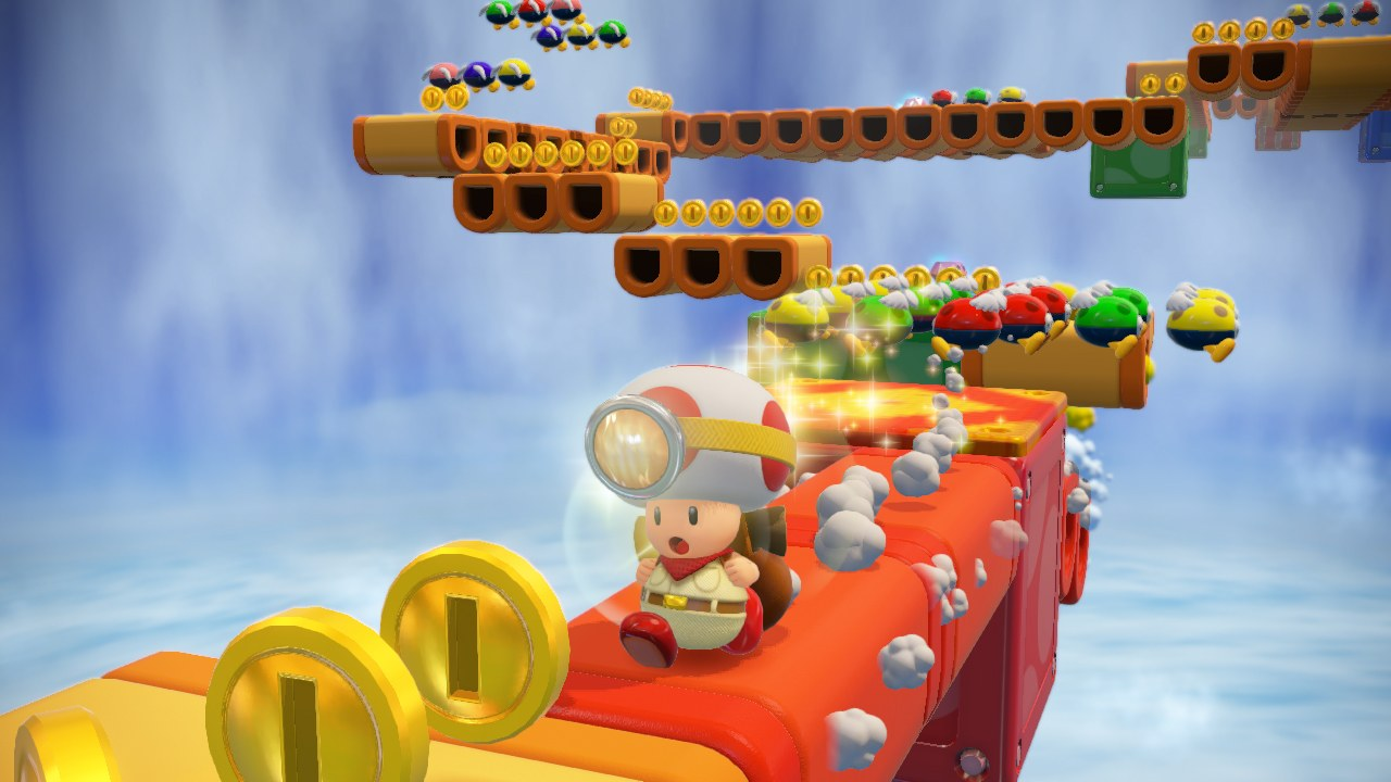 Captain Toad On Switch Does Not Include The Levels From Super Mario 3D World