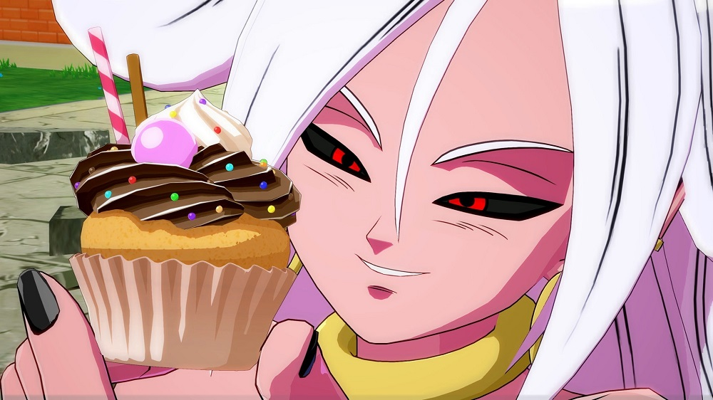 Dragon Ball FighterZ Patch 1.10 Lets Me Post Another Picture Of Android 21