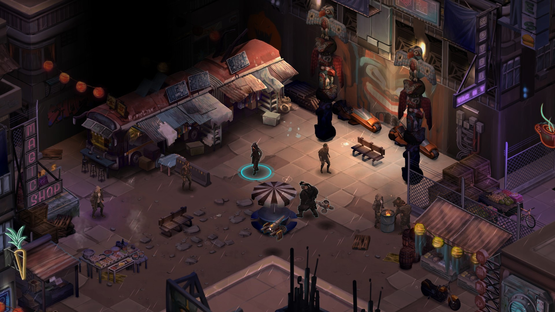 Shadowrun Returns Goes Free On The Humble Store