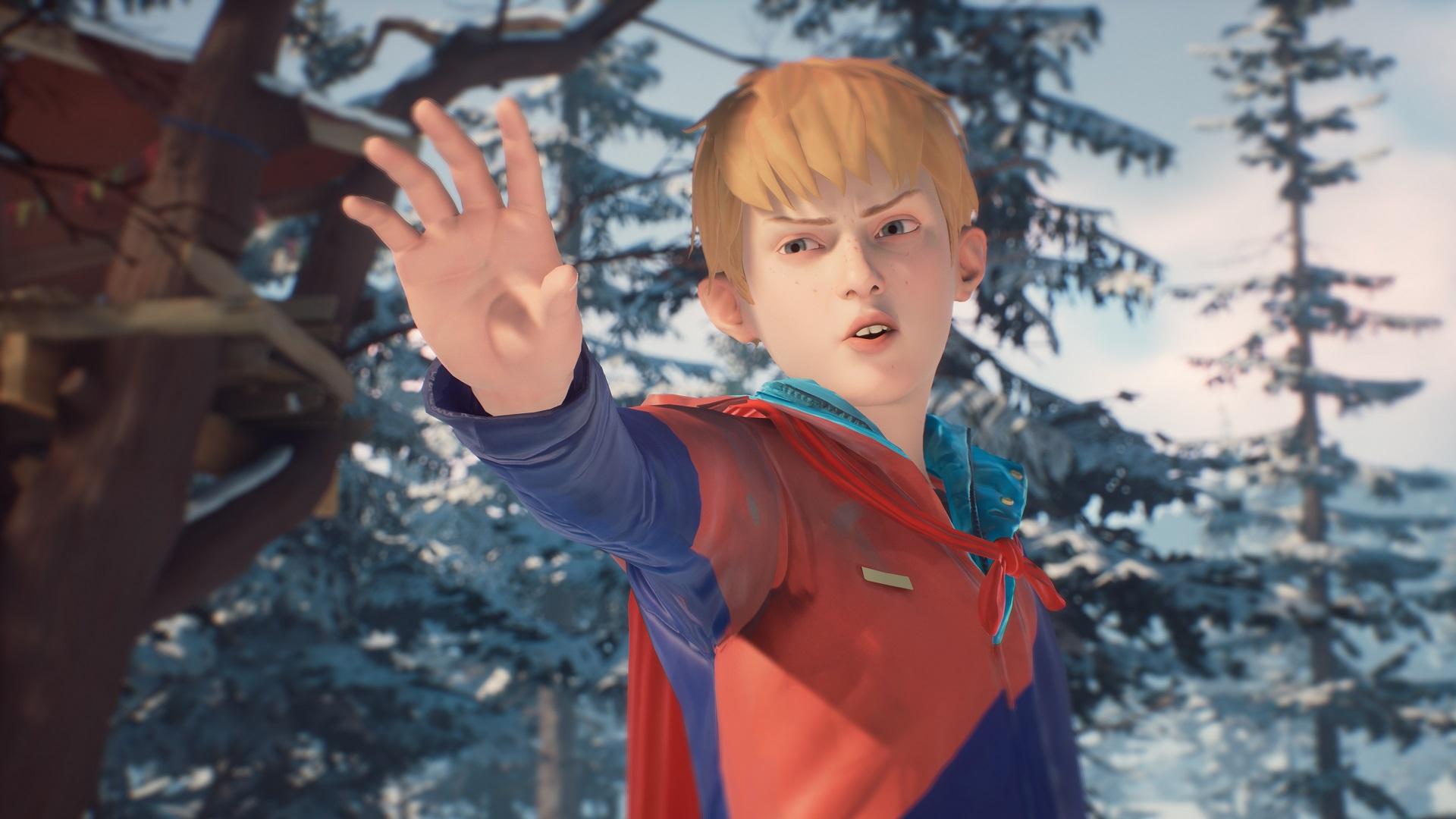 Captain Spirit springs to life a day earlier than planned screenshot