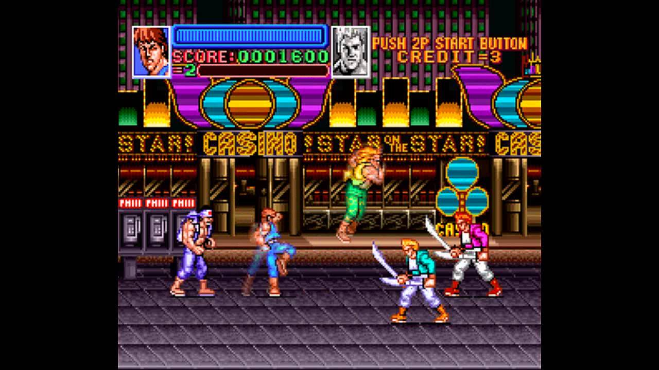 Return Of Double Dragon Is Getting A PS4 Release