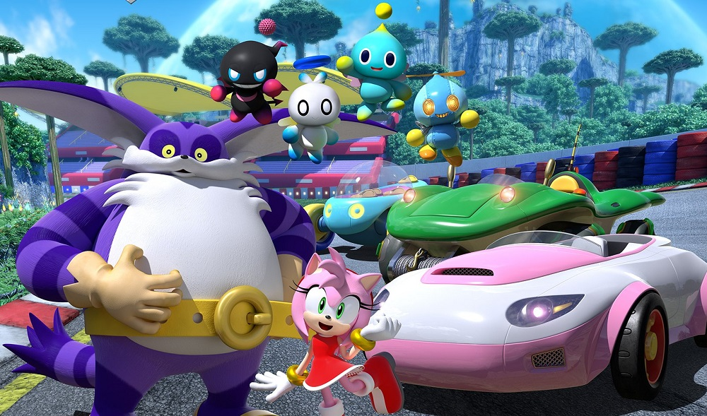 New video and characters surface for Sega's Team Sonic Racing screenshot