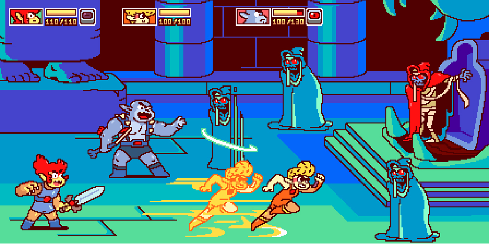 This ThunderCats Roar fan game mock-up might sway some haters screenshot