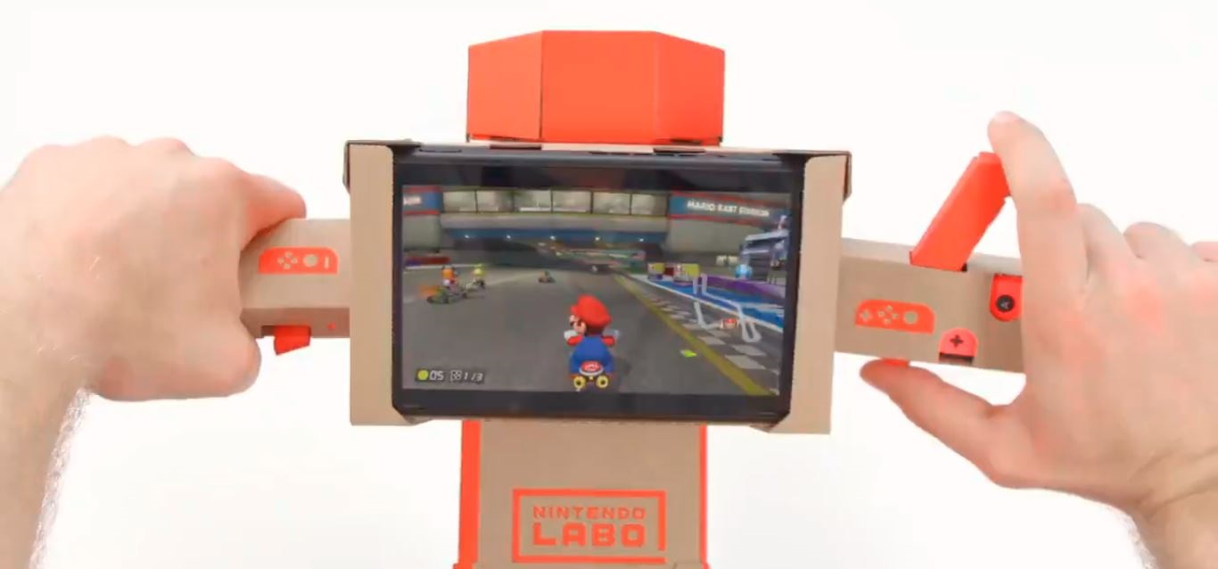 Nintendo Labo is now compatible with Mario Kart 8  screenshot