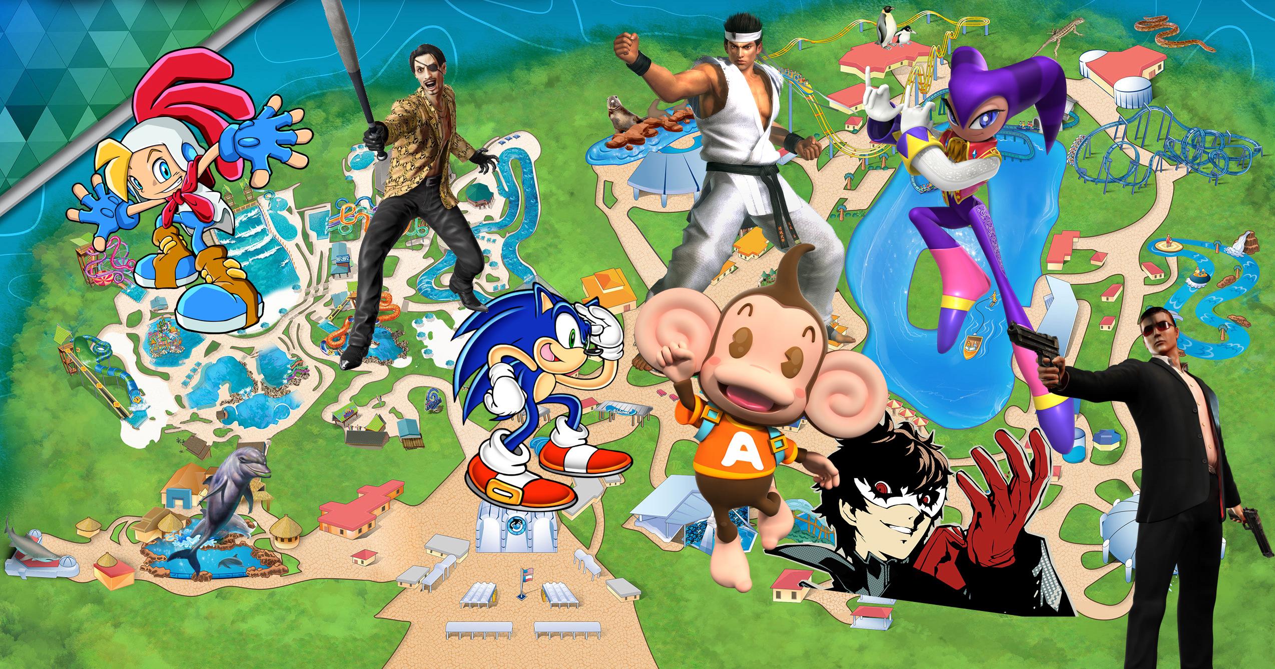 What rides would you put in a Sega theme park? screenshot