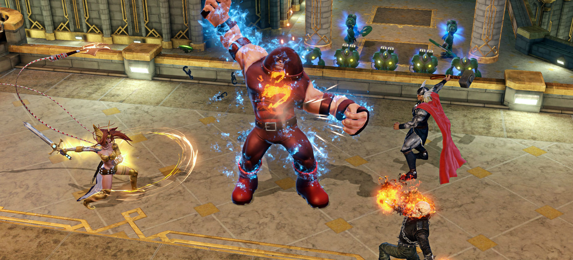 MMO giant Trion Worlds acquires previously defunct Marvel Heroes developer's assets screenshot