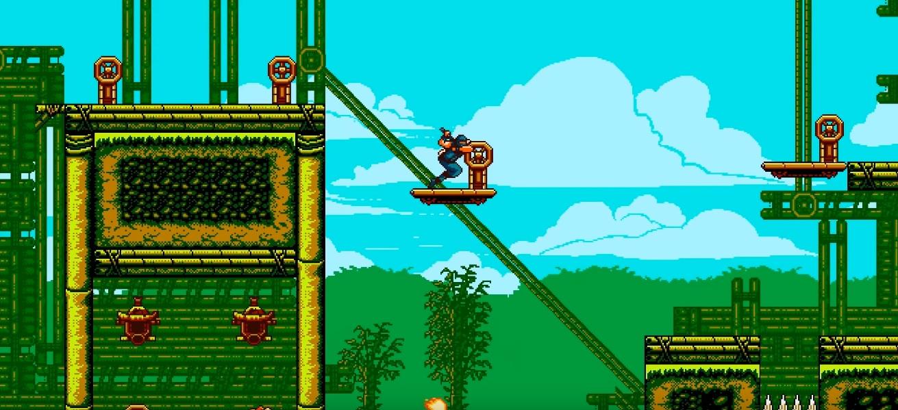 Ninja Gaiden lookin' The Messenger is still fire screenshot