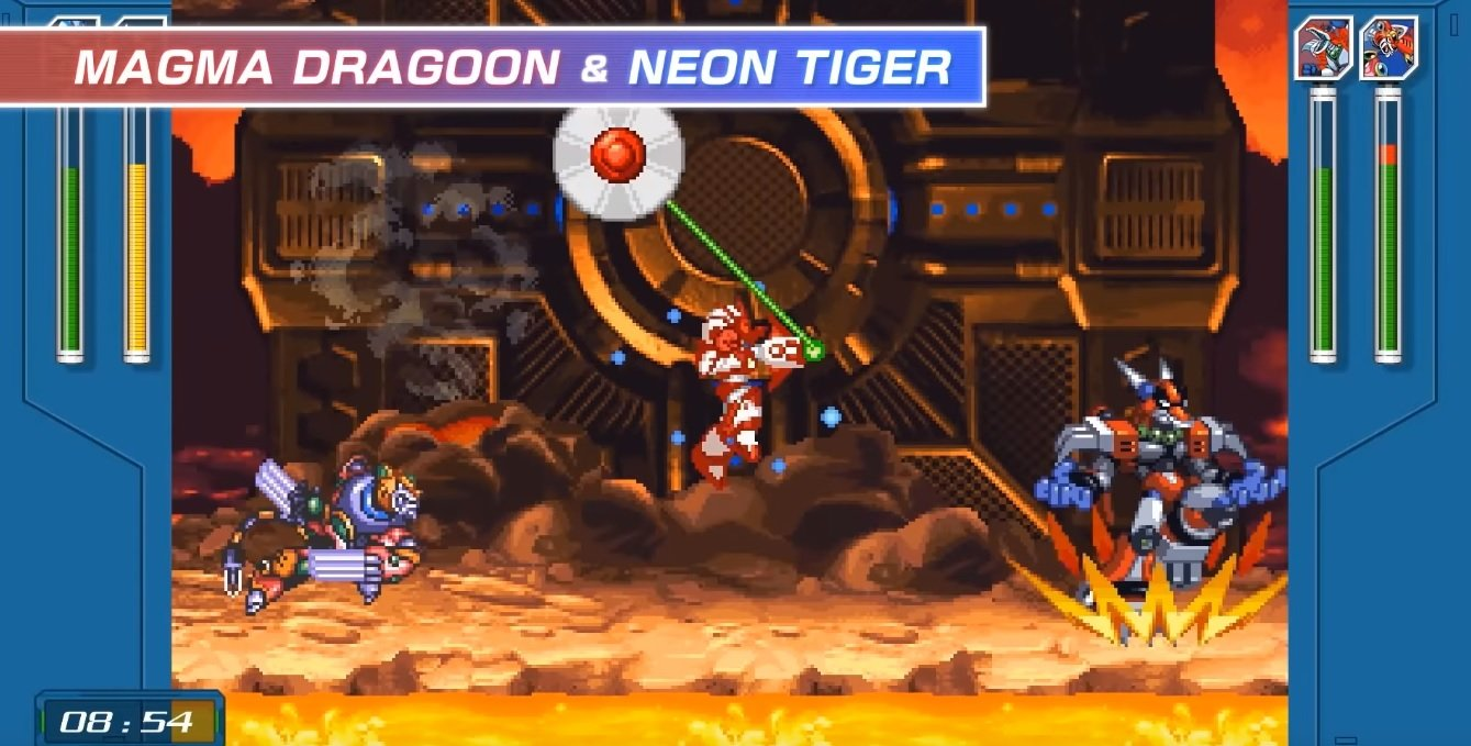 Mega Man X Legacy Collection's 'X Challenge' crossover mode looks