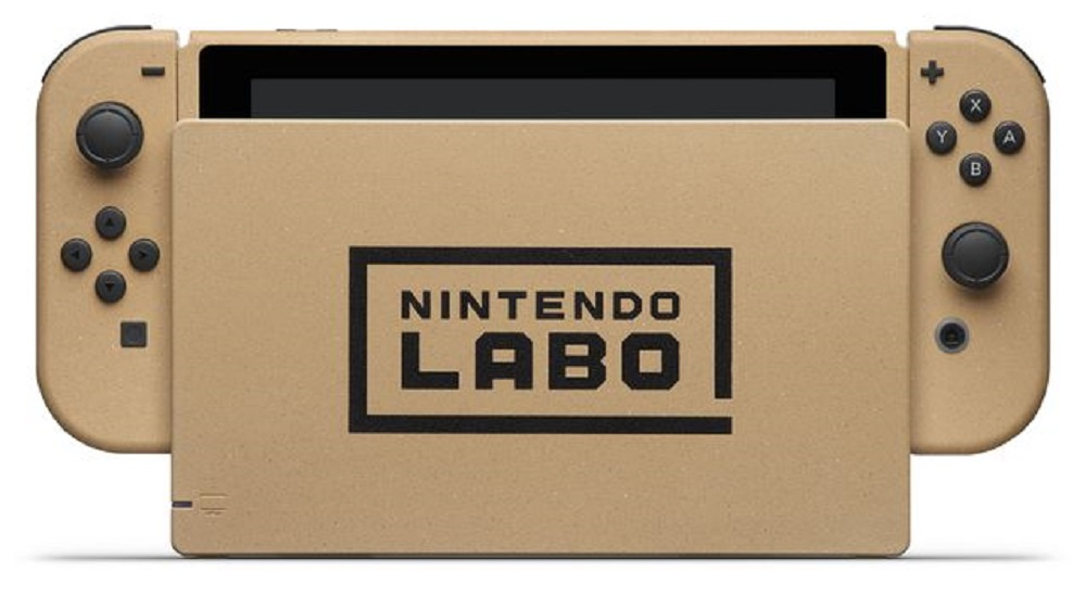 'Cardboard' Nintendo Switches to be won in Labo creativity contest screenshot