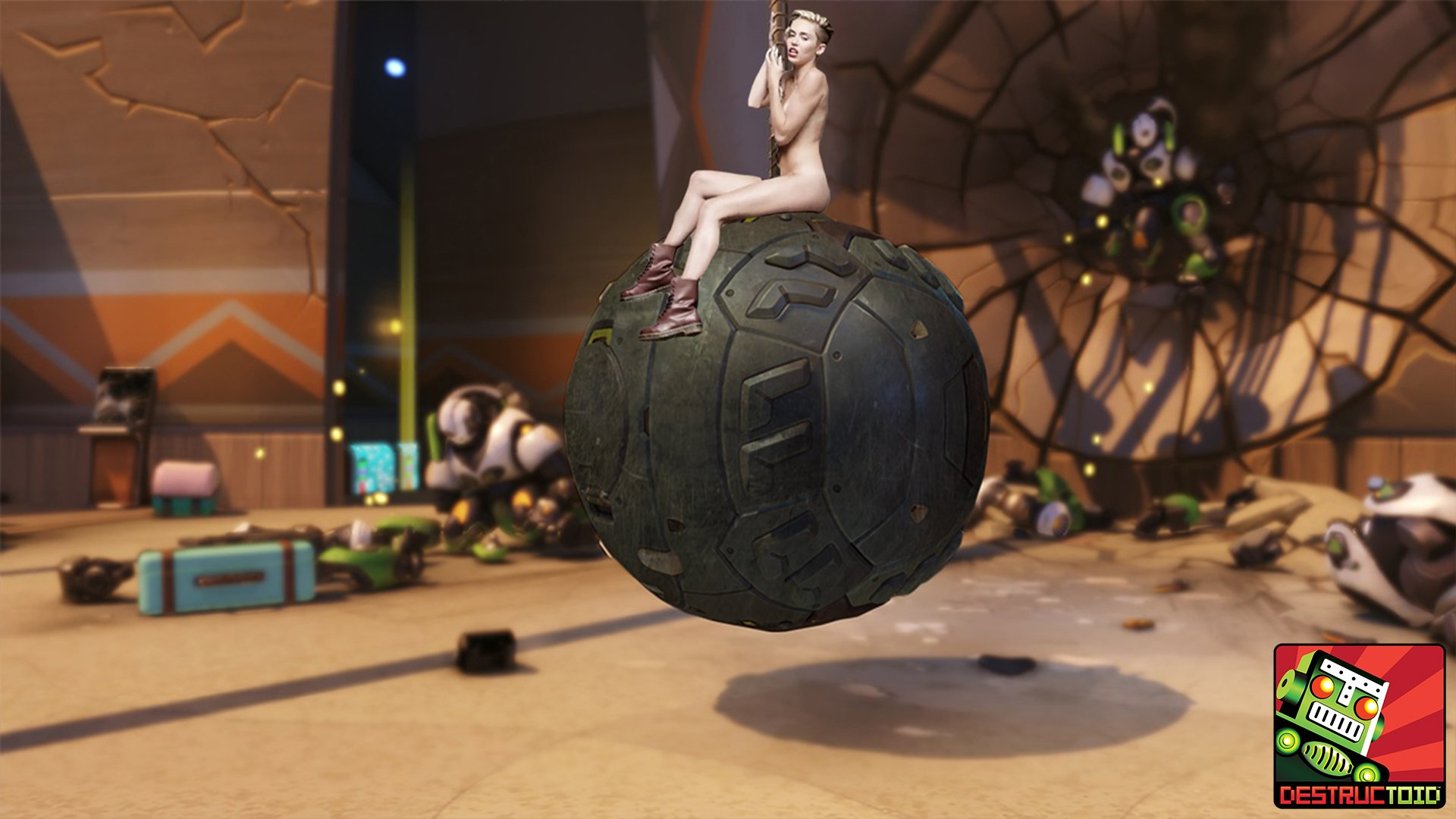 New Overwatch Hero Wrecking Ball Announced