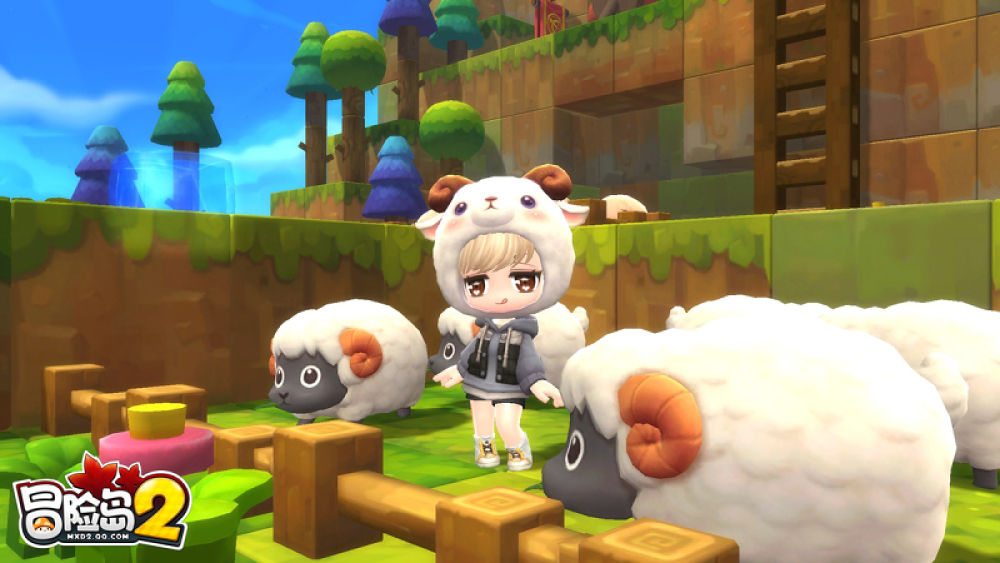 MapleStory 2 is getting a battle royale mode screenshot