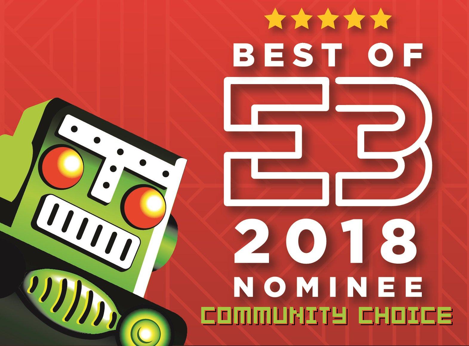 Your winner for the Destructoid E3 Community Choice Award is... screenshot