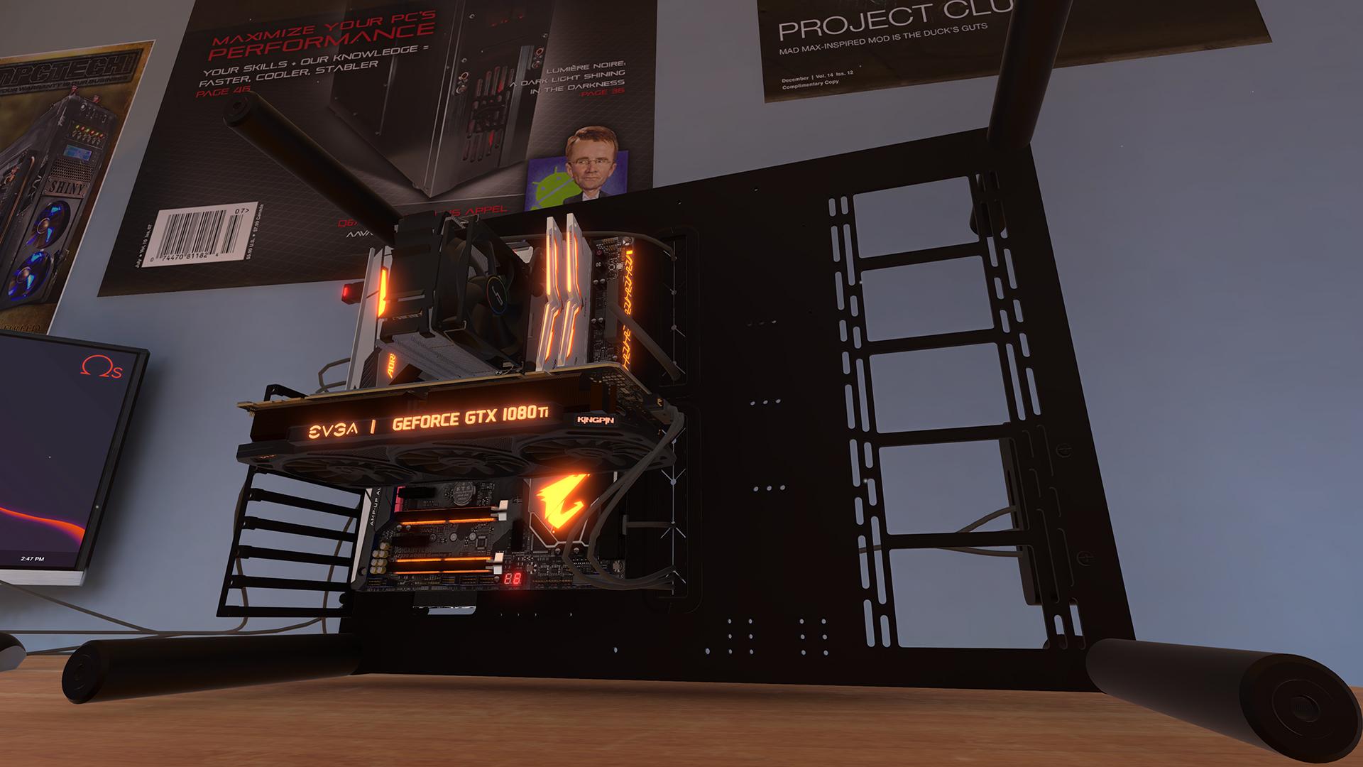 Contest: Win a Steam key for PC Building Simulator screenshot