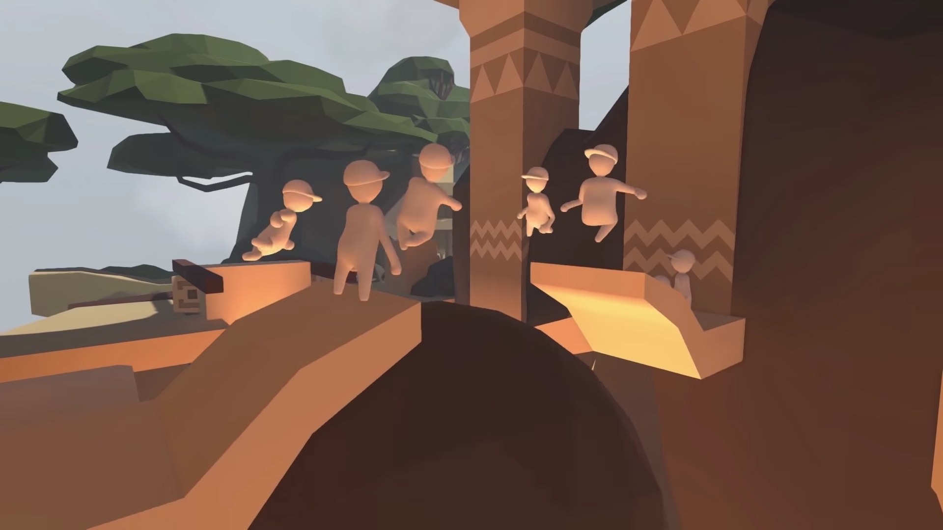 Online multiplayer is coming to Human: Fall Flat on consoles and I couldn't be more stoked screenshot