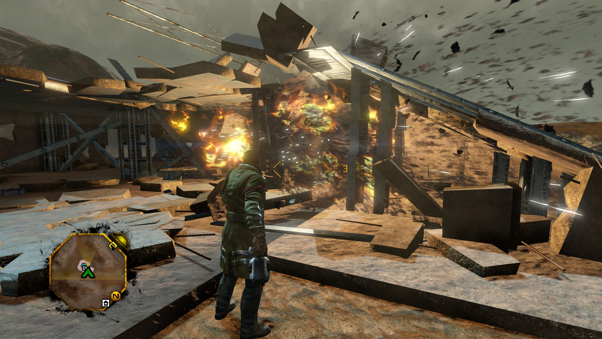 Red Faction Guerrilla Re-Mars-tered is perfectly fine on PC screenshot