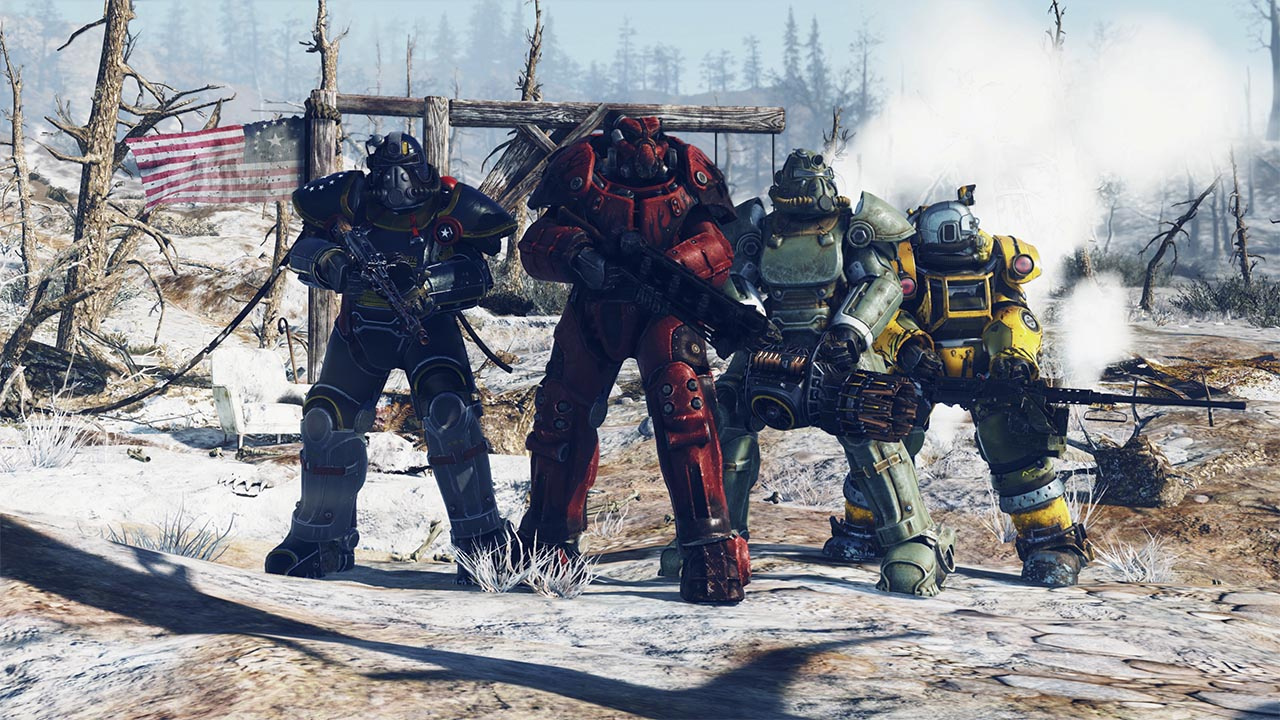 Fallout 76's online multiplayer focus 'doesn't mark the future' of Bethesda screenshot