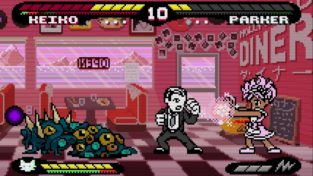 Review: Pocket Rumble screenshot