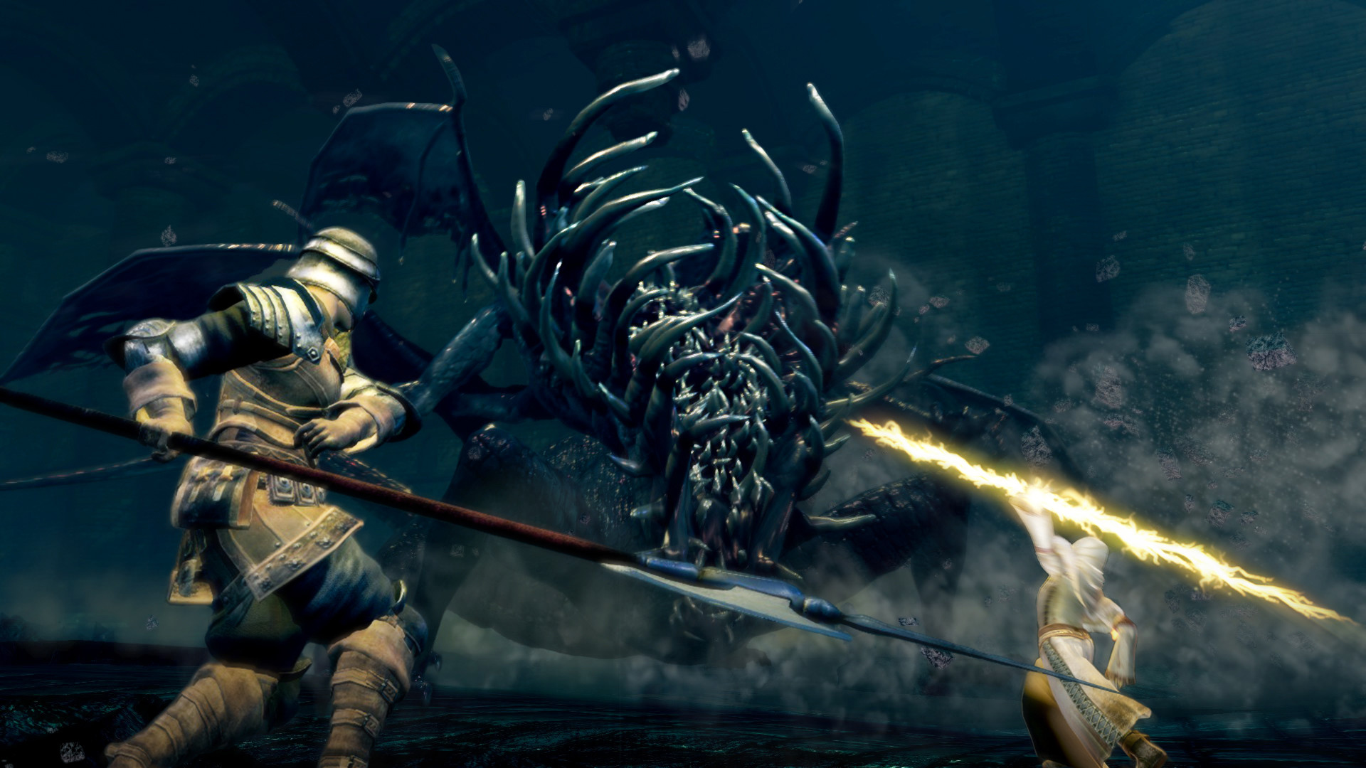 Dark Souls Remastered patch tackles invisibility bug and cheating in online multiplayer screenshot