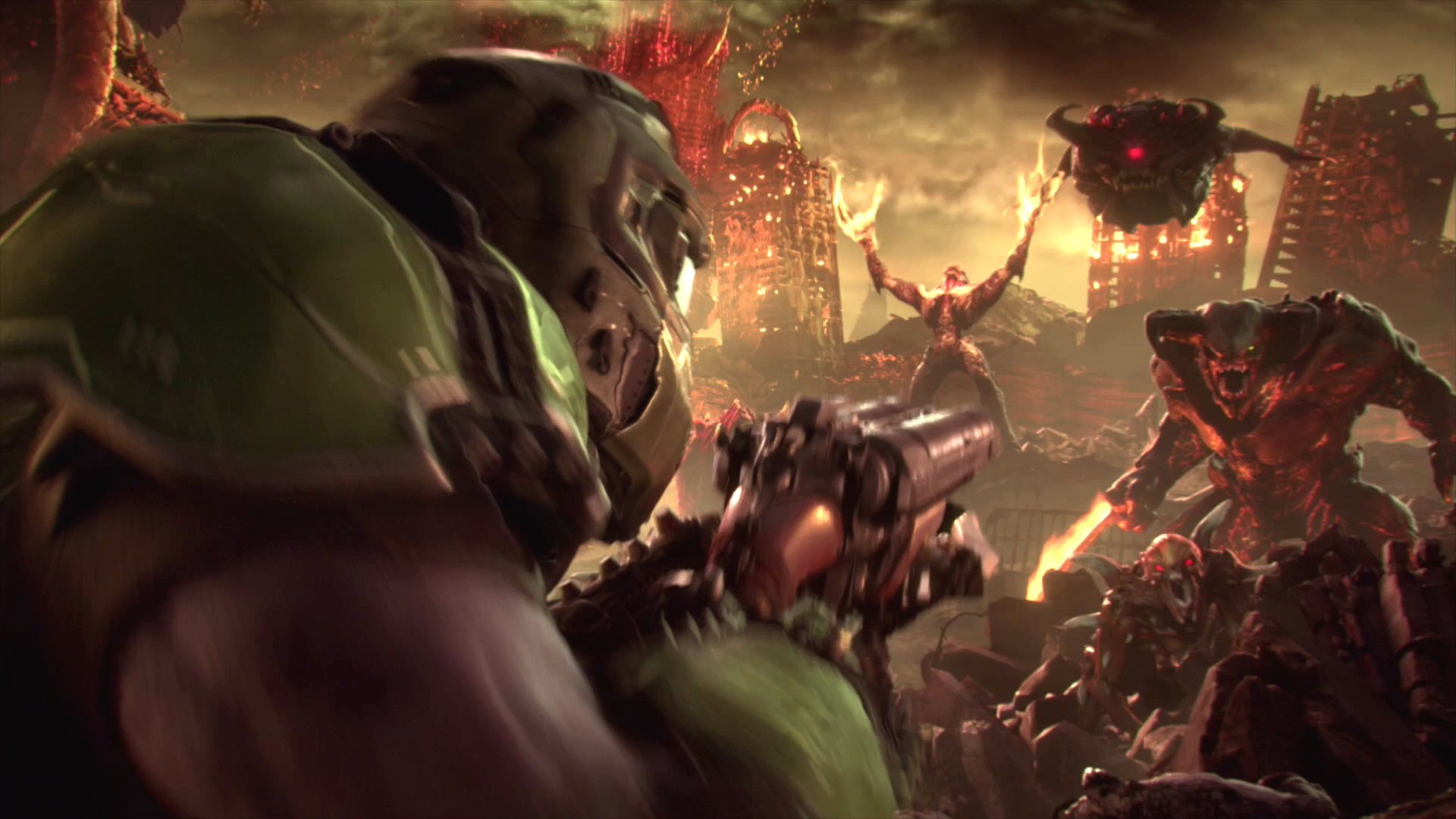 Doom Eternal's gameplay reveal is coming, but it's still a month away screenshot