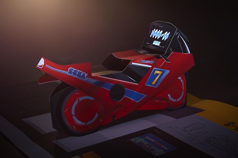 Sega pop-up book to feature 3D models of classic arcades screenshot