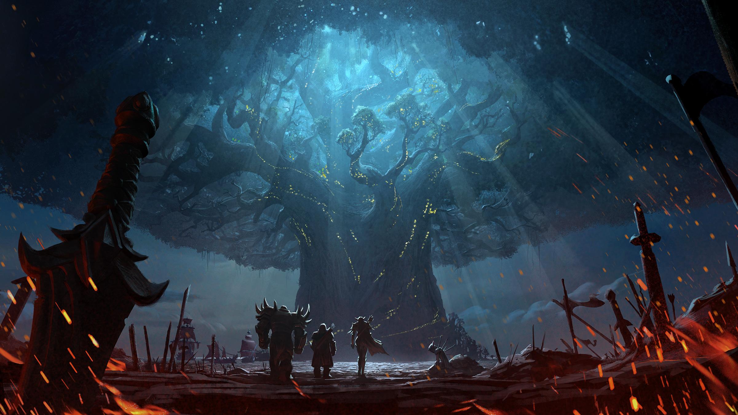 World of Warcraft's latest gargantuan patch adds cross-realm PVP and communities screenshot