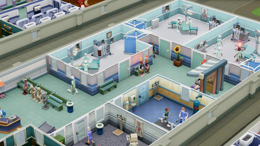 Two Point Hospital is full of puns, patients, and pedigree screenshot