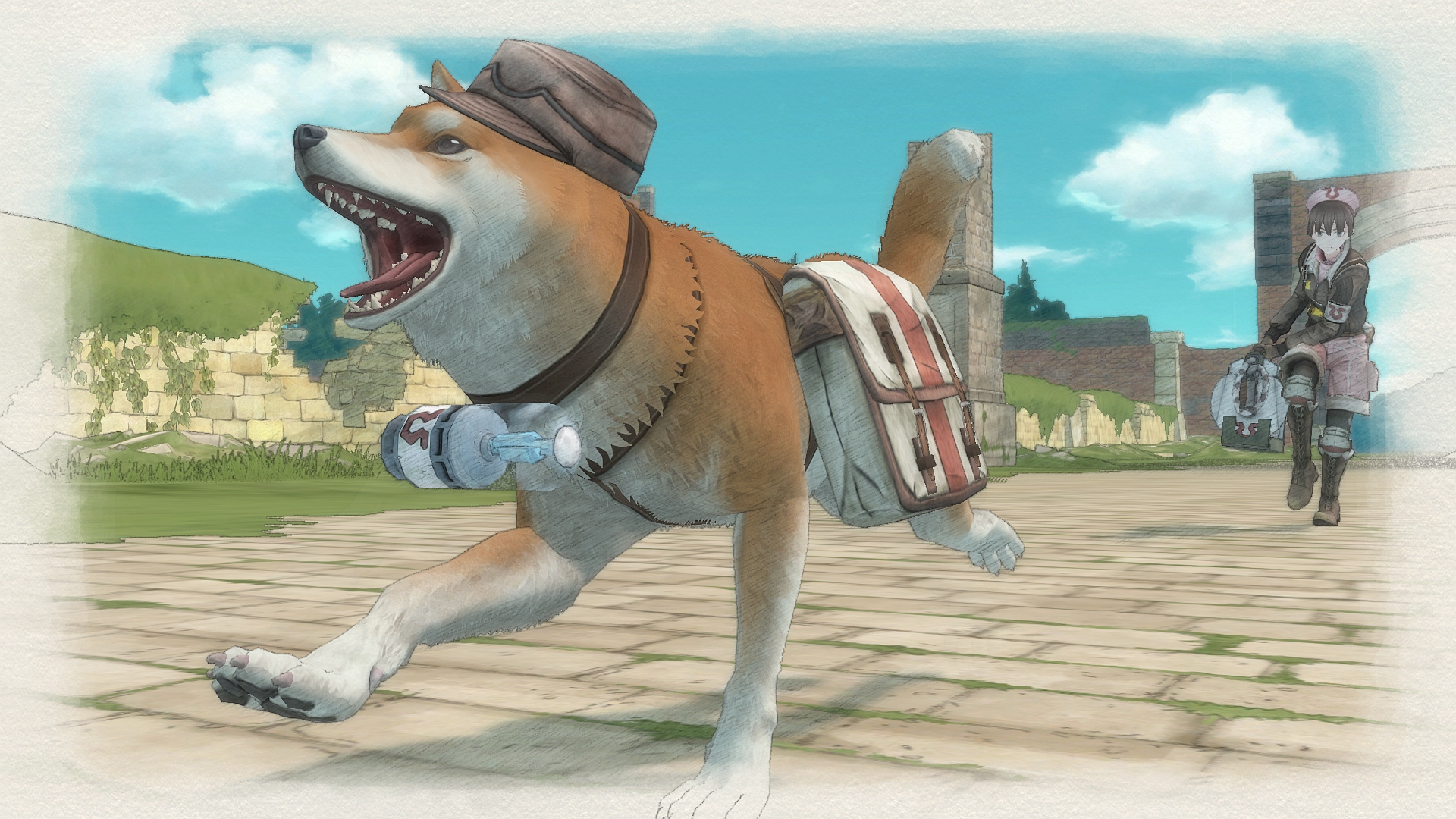 Valkyria Chronicles 4's opening cinematic looks lovely screenshot