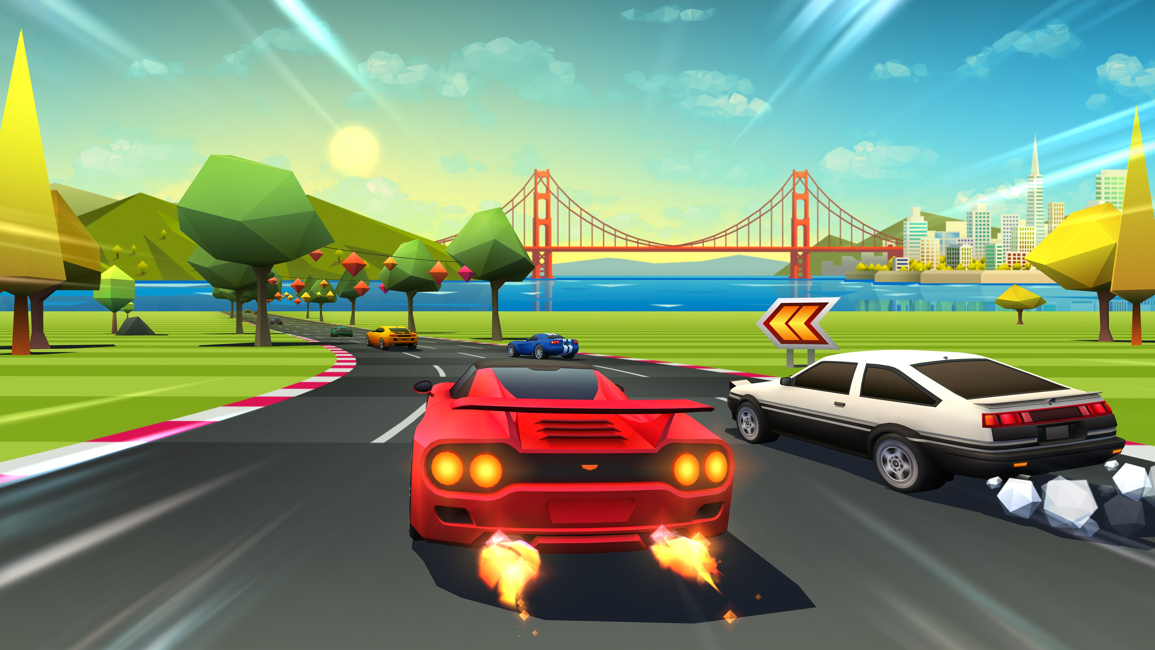 Review: Horizon Chase Turbo screenshot