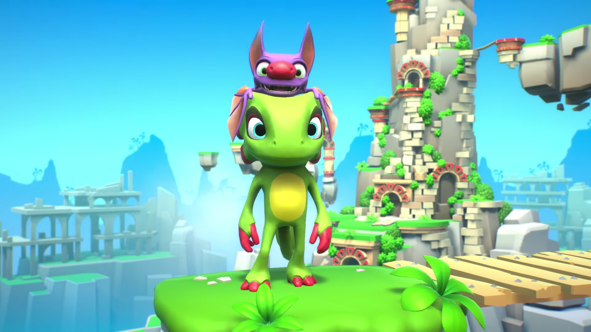 Yooka-Laylee is the latest guest fighter in Brawlout