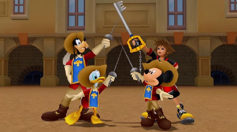 Huh ha: Kingdom Hearts celebrates 90 years of Mickey Mouse screenshot