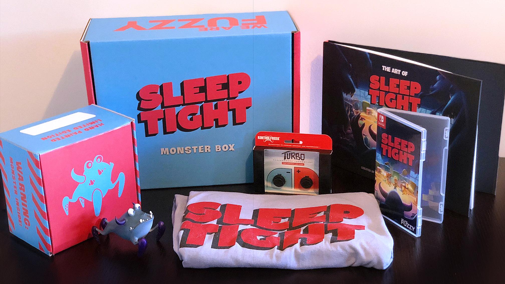 Contest: Win the Sleep Tight Monster Box! screenshot