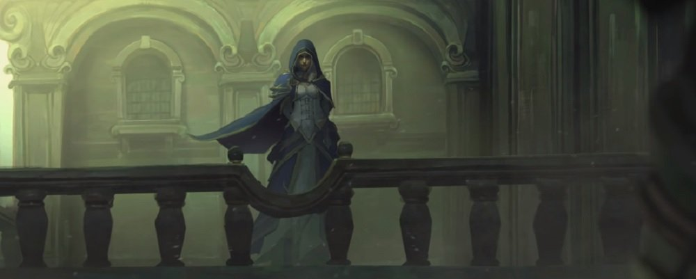 Blizzard is heralding in the new World of Warcraft expansion with a short on Jaina screenshot